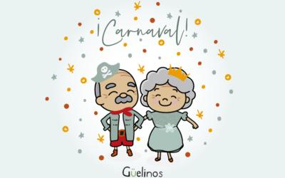 Llega el carnaval a los centros de día de Oviedo